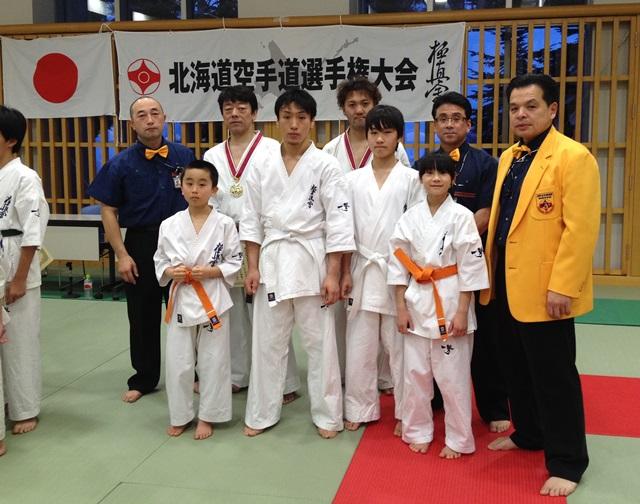 2014北海道空手道選手権大会出場選手